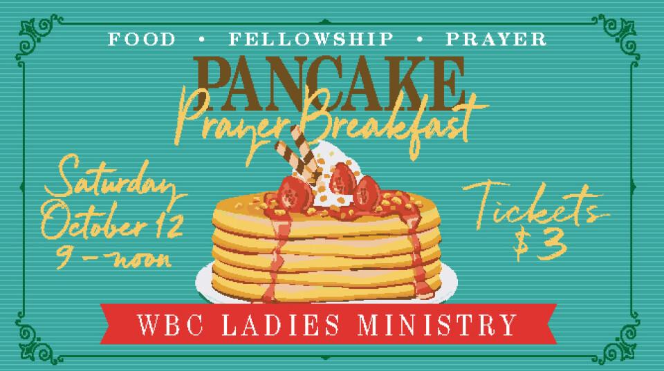Ladies Pancake & Prayer