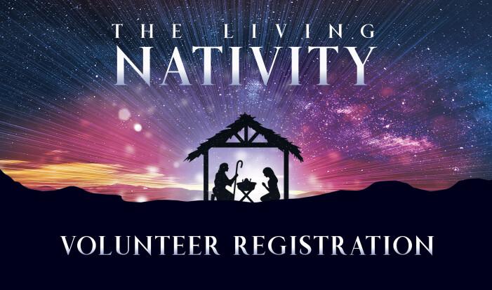 The Living Nativity Volunteer Registration